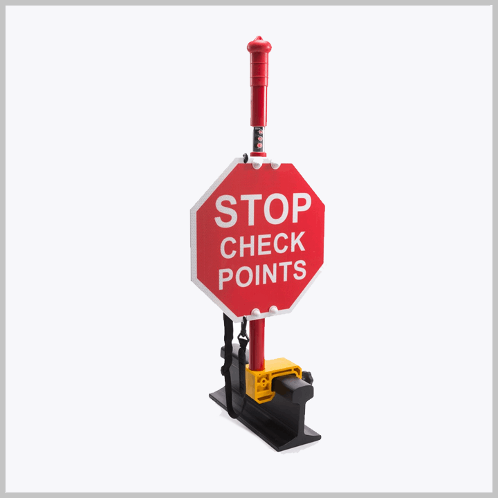 MCE 213 02 Stop Check Points Sign – 057-073005