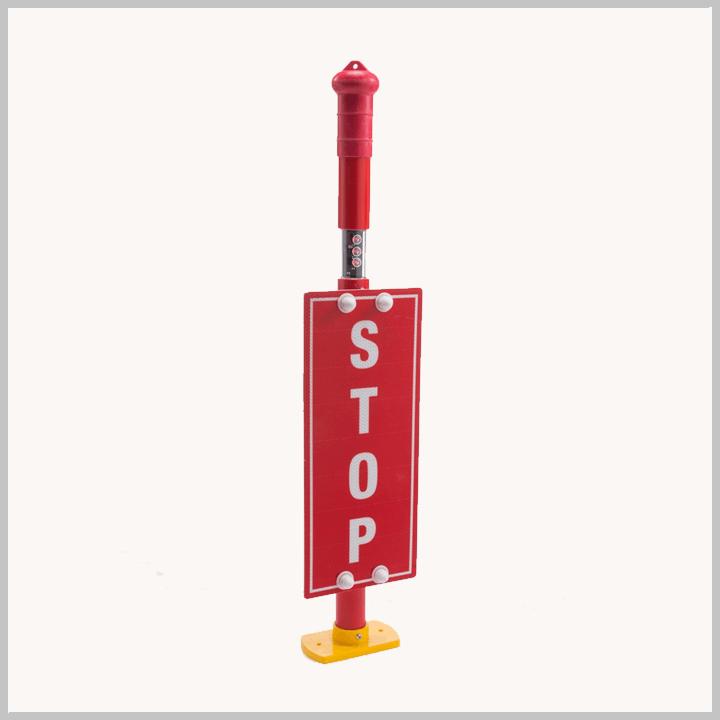 MCE 307 – De-Railer Stiklite Stop Banner