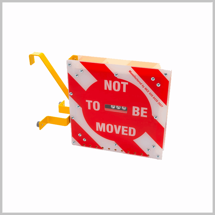 "MCE 610-S/L Slim Line ""Not To Be Moved"" Hanging Lamp (Pads No 054/042311)"