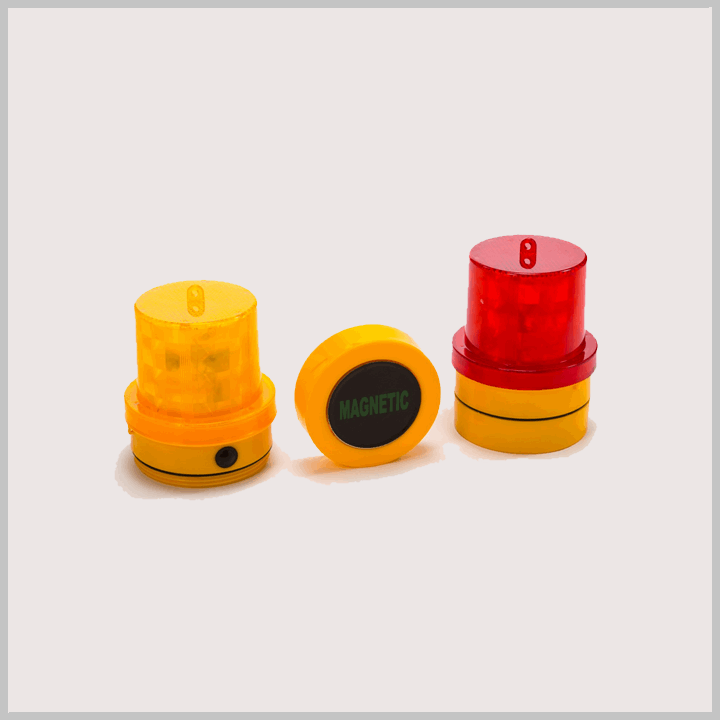 MCE D Beacon (Red MCE D/A) LED Magnetic D Beacon With Red LED's