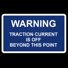 MCE 801/006 – Traction Current / On-Off Sign